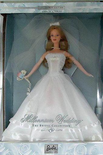 【中古】ドール MILLENNIUM WEDDING Barbie -ミレニアム ウェディング バービー- 「Barbie-バービー-」 バービーコレクティブルズ コレクターエディション シルバーラベル