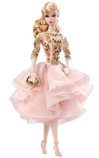 【予約】ドール カクテルドレス バービー(ブラッシュ&ゴールド) 「Barbie -バービー-」 ファッションモデルコレクション