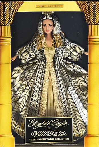 【中古】ドール [ランクB] Barbie as Elizabeth Taylor / Cleopatra -バービー アズ エリザベス テイラー / クレオパトラ- 「Barbie -バービー-/クレオパトラ」 エリザベス テイラー コレクション