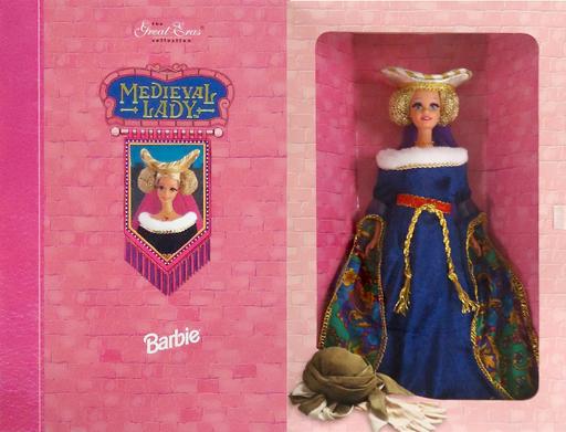 【中古】ドール MEDIEVAL LADY Barbie -メディーヴァル レディー バービー- 「Barbie -バービー-」 The Great Eras Collection