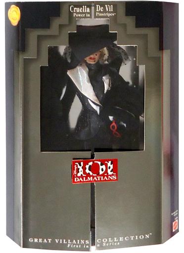 【中古】ドール クルエラ・ド・ヴィル 「101匹わんちゃん × Barbie -バービー-」 GREAT VILLAINS COLLECTION