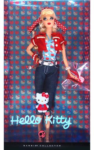 【中古】ドール [ランクB] ハローキティバービー 「Barbie -バービー-」 バービーコレクター ピンクレーベル