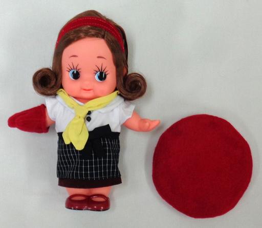 【中古】ドール マヨテラス キューピー人形(赤) 「マヨテラス キューピー人形プレゼントキャンペーン」 当選品