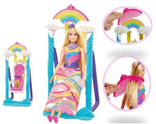 【新品】ドール バービー レインボーブランコ 「Barbie -バービー-」