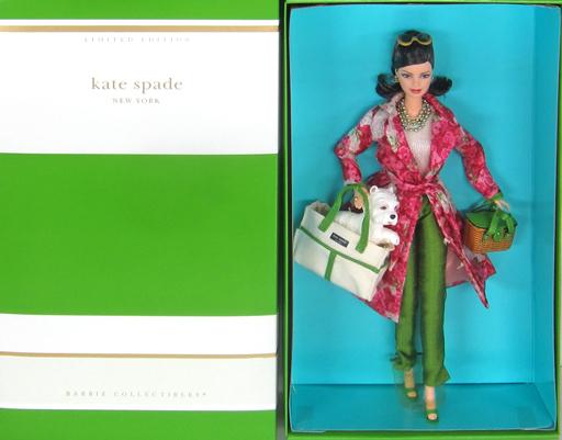 【中古】ドール Kate spade NEW YORK Barbie-ケイト・スペード バービー- 「Barbie -バービー-」 LIMITED EDITION