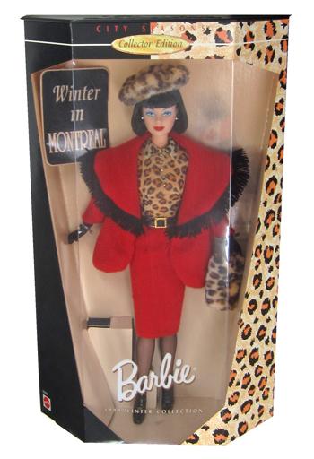 【中古】ドール Winter in MONTREAL -ウィンターinモントリオール- 「Barbie -バービー-」 CITY SEASONS Collector Edition