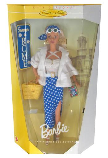 【中古】ドール Summer in ROME -サマーinローマ- 「Barbie -バービー-」 CITY SEASONS Collector Edition