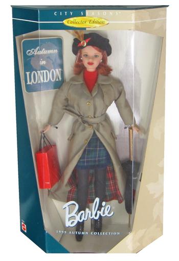 【中古】ドール Autumn in LONDON -オータムinロンドン- 「Barbie -バービー-」 CITY SEASONS Collector Edition