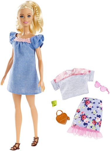 【新品】ドール 着せ替えファッションセット 「Barbie -バービー-」 バービーファッショニスタ