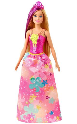 マテル 新品 ドール バービープリンセス(ピンクフラワー) 「Barbie -バービー-」 ドリームトピア