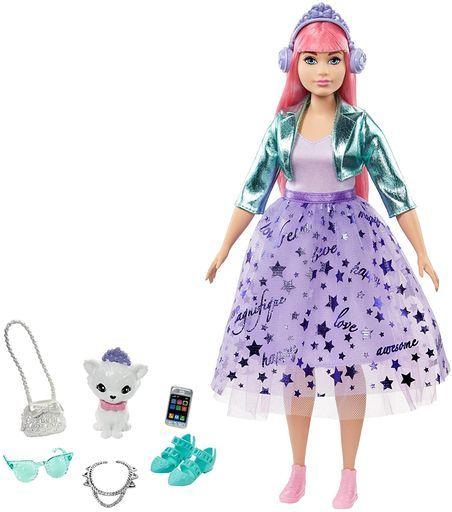 マテル 新品 ドール プリンセスアドベンチャー デイジー 「Barbie -バービー-」
