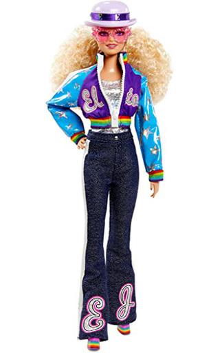 マテル 新品 ドール バービー/エルトン・ジョン 「Barbie -バービー-」 バービーシグネチャー ゴールドラベル パートナーシップストア限定