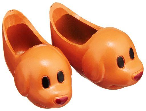 【新品】ドールアクセサリー 23cmドール用  動物シューズ 犬(茶色)