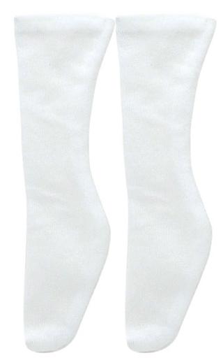 Soft see-through sock for 50 cm (white)