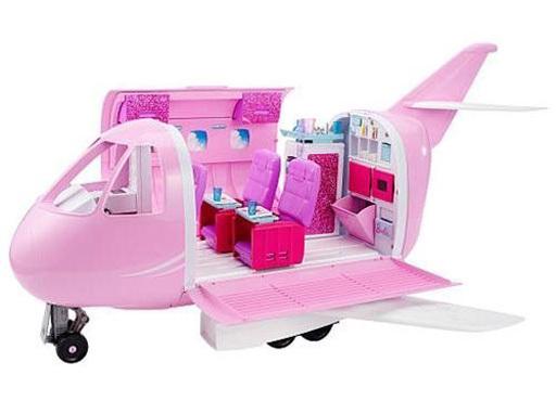 【新品】ドールアクセサリー ピンクパスポート バービーのピンクジェット機 「Barbie -バービー-」