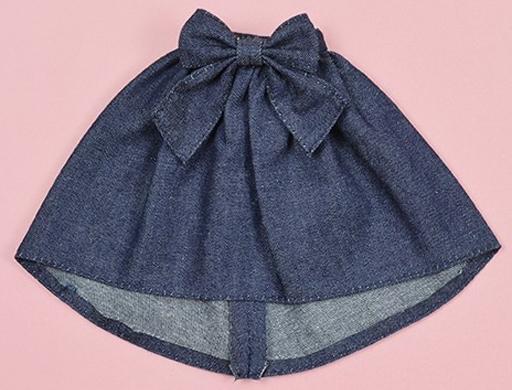 クロスワールドコネクションズ 新品 ドールアクセサリー ネオブライス用 デニムフィッシュテイルスカート(インディゴ) 「Blythe-ブライス-」 Dear Darling Fashion for Dolls