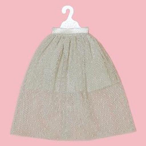 クロスワールドコネクションズ(CWC) 新品 ドールアクセサリー ネオブライス用 チュールロングスカート(グレー) 「Blythe-ブライス-」 Dear Darling Fashion for Dolls