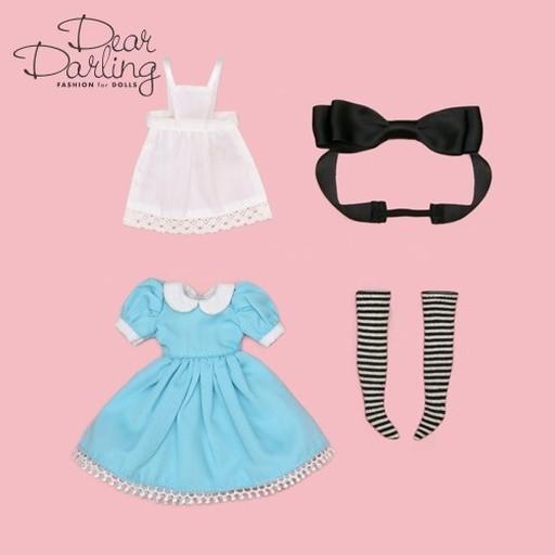クロスワールドコネクションズ(CWC) 新品 ドールアクセサリー ネオブライス用 オールアリス 「Blythe-ブライス-」 Dear Darling Fashion for Dolls