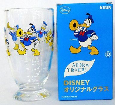 【中古】グラス(キャラクター) D.ドナルド(上目遣い) オリジナルグラス 「ディズニー×All New 午後の紅茶」 プレゼントキャンペーン
