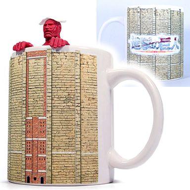 【中古】食器その他(キャラクター) 超大型巨人の茶こし+マグカップセット 「進撃の巨人」