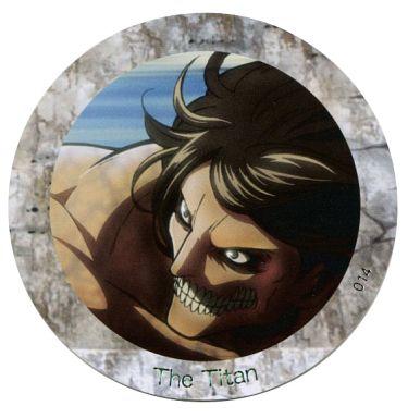 【中古】コースター(キャラクター) No.014 巨人化(エレン) 「進撃の巨人 コレクションコースター」
