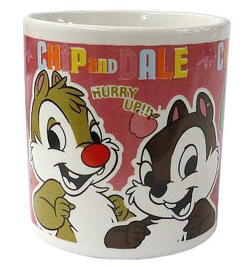 【中古】マグカップ・湯のみ(キャラクター) チップ&デール みんなのキャラクター カラフルマグカップ 「ディズニー」