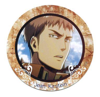 【中古】コースター(キャラクター) No.025 ジャン・キルシュタイン 「進撃の巨人 PVCコレクションコースター2」