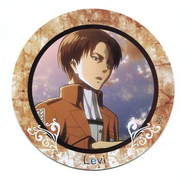 【中古】コースター(キャラクター) No.031 リヴァイ 「進撃の巨人 PVCコレクションコースター2」