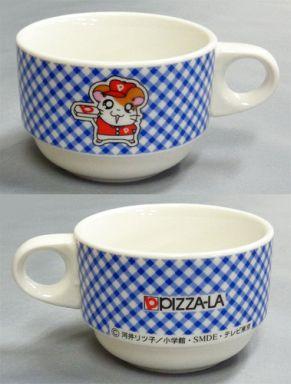 【中古】マグカップ・湯のみ(キャラクター) ハム太郎 スープカップ(ブルー) 「とっとこハム太郎」 ピザーラキャンペーン品