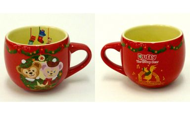 【中古】マグカップ・湯のみ(キャラクター) ダッフィー&シェリーメイ スーベニアカップ 「クリスマス・ウィッシュ2012」 東京ディズニーシー限定