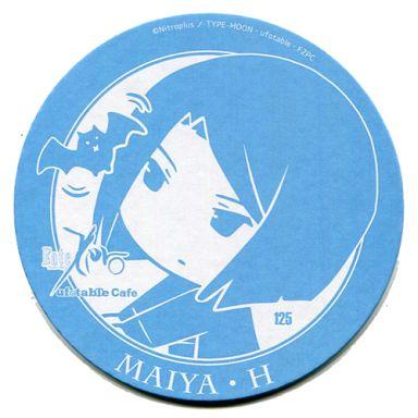 久宇舞弥(水色) 特製コースター 「Fate/Zero Cafe」 ドリンク注文特典
