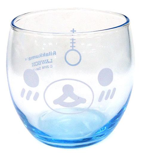 【中古】グラス(キャラクター) コリラックマ にっこりグラス 「リラックマ×ローソン」 2016年 春のリラックマフェア レシートスタンプ景品