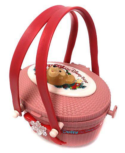 【中古】食器その他(キャラクター) [破損品] ダッフィー(クリスマス) ポップコーンバスケット 「ディズニーベア」 東京ディズニーシー限定