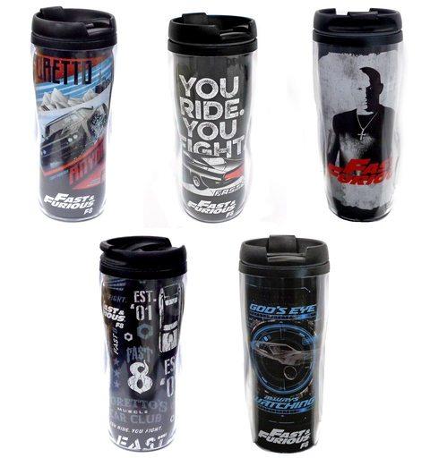 【中古】マグカップ・湯のみ(男性) 全5種セット タンブラー 「ワイルド・スピード ICE BREAK」