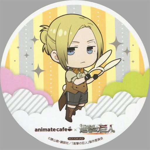 アニ・レオンハート コースター 「進撃の巨人 Season 2×animatecafe」 メニュー注文特典