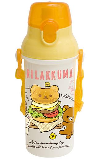 【新品】マグカップ・湯のみ(キャラクター) 集合(ハンバーガー柄) ランチマーケット ダイレクト水筒 「リラックマ」