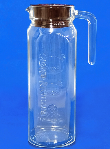 【中古】グラス(キャラクター) リラックマ&コリラックマ&キイロイトリ ガラスのボトル 「リラックマ×ローソン」 2017年 春のリラックマフェア お店で引換コース