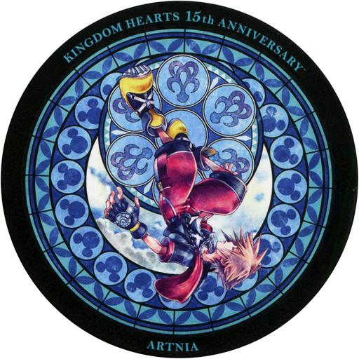 【中古】コースター(キャラクター) ソラ(ブルー/逆さ) コースター 「キングダムハーツ×ARTNIA」 ドリンク注文特典