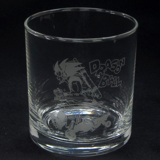 【中古】グラス(キャラクター) 孫悟空(横向き/バイク) グラス 「一番くじ ドラゴンボール HISTORY OF SON GOKOU」 C賞