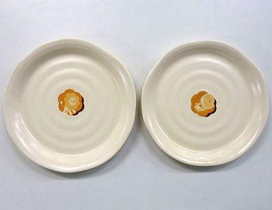 【中古】皿・茶碗(キャラクター) ポンデライオン&ハニーシッポ 大皿セット(2枚組) ミスタードーナツ 2005年ポイント交換景品