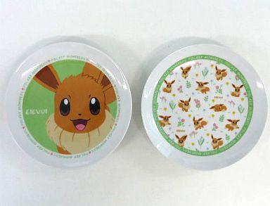 【中古】皿・茶碗(キャラクター) イーブイ お皿セット(2枚組) 「ポケットモンスター」