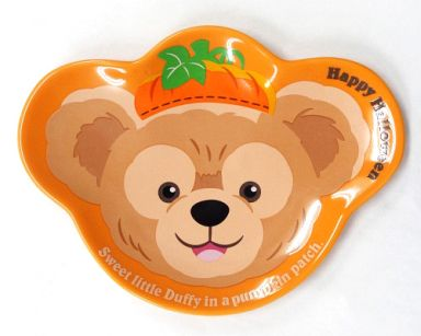 【中古】皿・茶碗(キャラクター) ダッフィー スーベニアプレート(オレンジ) 「ディズニーハロウィーン2010」 東京ディズニーシー限定