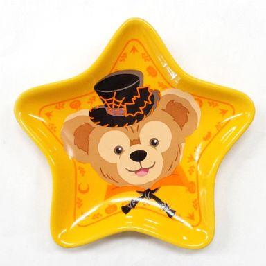 【中古】皿・茶碗(キャラクター) ダッフィー スーベニアプレート(オレンジ/星型) 「ディズニーハロウィーン2011」 東京ディズニーシー限定
