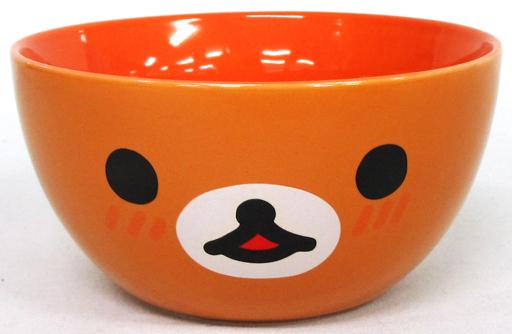 【中古】皿・茶碗(キャラクター) リラックマ にっこりボウル 「リラックマ」 ローソン限定 2016年 春のリラックマフェア景品