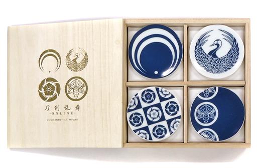 【中古】皿・茶碗(キャラクター) 刀剣乱舞-ONLINE- 美濃焼豆皿セット