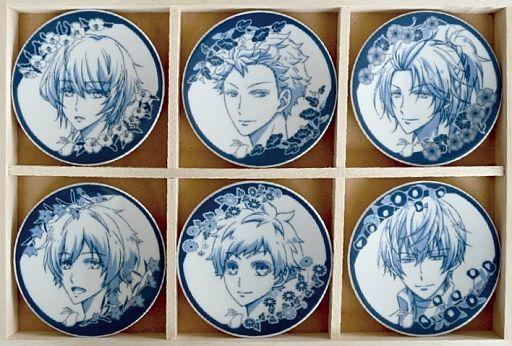 【中古】皿・茶碗(キャラクター) Procellarum 豆皿セット(6枚入り) 「ツキウタ。 THE ANIMATION」
