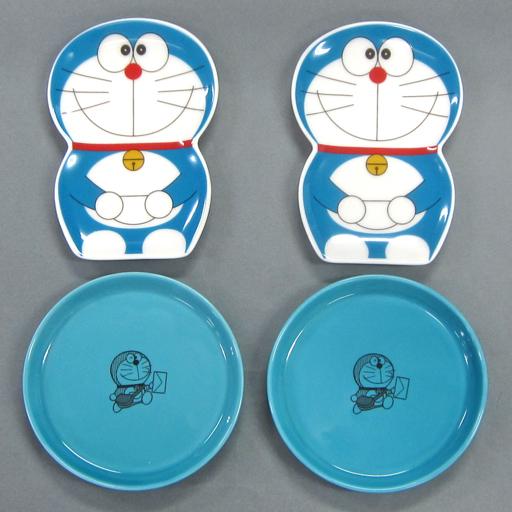 【中古】皿・茶碗(キャラクター) ウソ800小皿セット 「ドラえもん」 食卓を元気に♪ドラえもん食器 郵便局限定