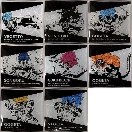 Ichiban Kuji Dragon Ball Z Awakening Warriors With Dokkan Battle H Plate Set 8