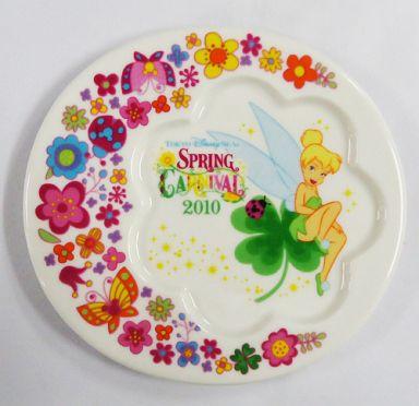 【中古】皿・茶碗(キャラクター) ティンカーベル スーベニアプレート 「スプリングカーニバル2010」 東京ディズニーシー限定