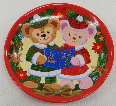 【中古】皿・茶碗(キャラクター) ダッフィー&シェリーメイ スーベニアプレート 「クリスマス・ウィッシュ2012」 東京ディズニーシー限定